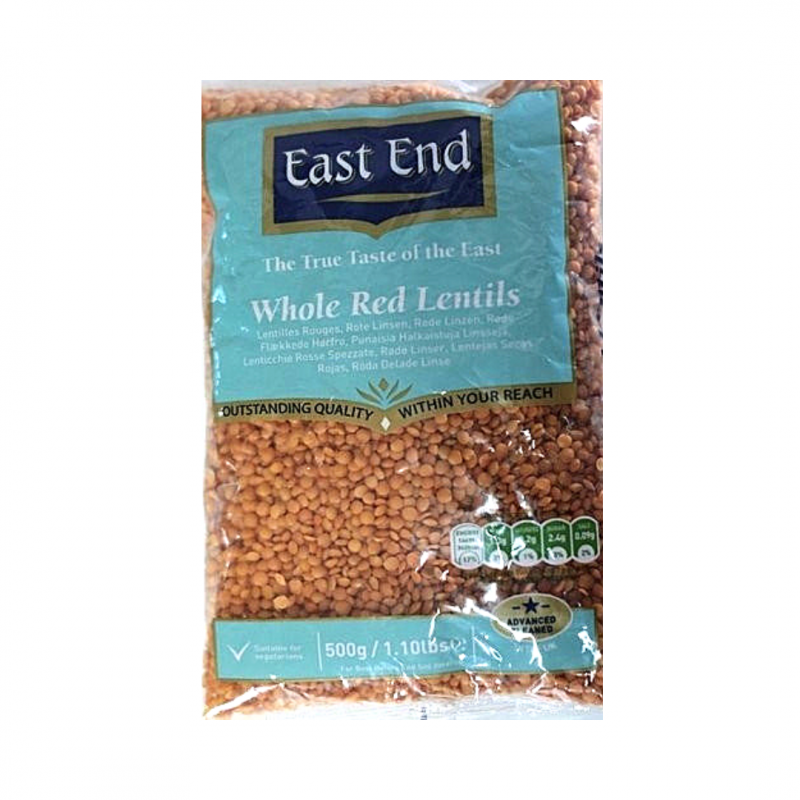 East end Whole  Red  Lentils / Masoor Dal