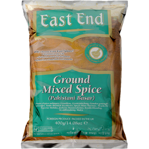 East End Ground Mixed Spice 400 g