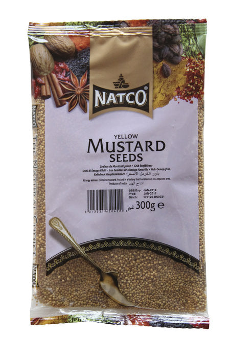Mustard Seeds Yellow 300g