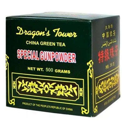 DRAGON'S TOWER SPECIAL GUNPOWDER TEA 500G. CHINA GREEN TEA