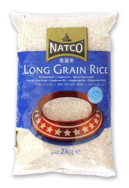 Natco Long Grain Rice 2kg