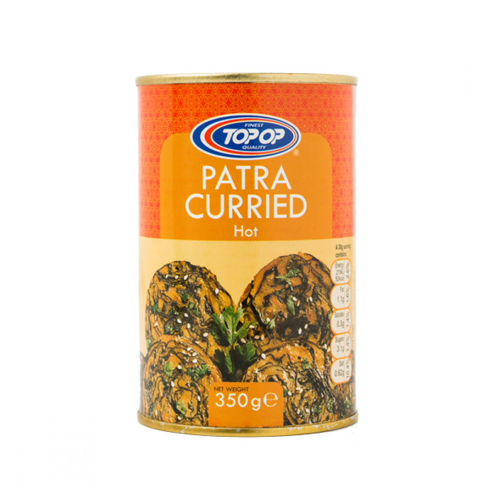 Top-Op Canned Patra Curried Hot