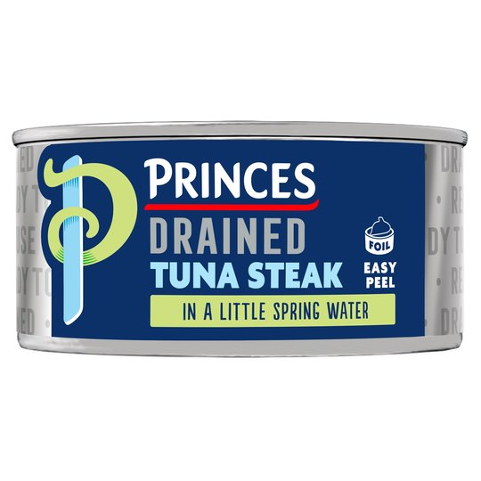 Princes Drained Tuna Steak In Spring Water 110G