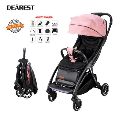 2020 New Ultra Light Yoya Baby Stroller Portable Baby Carriage Can Sit Or Lie Infant Trolley Suitable 4 Seasons 11 Gifts