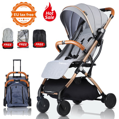TIANRUI Baby Stroller Plane Lightweight Portable  Children Pushchair 5 FREE GIFTS