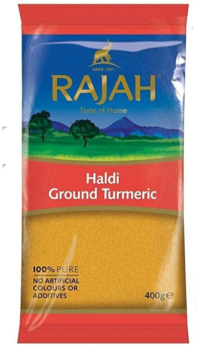 Rajah Ground Turmeric Powder  Haldi 400g