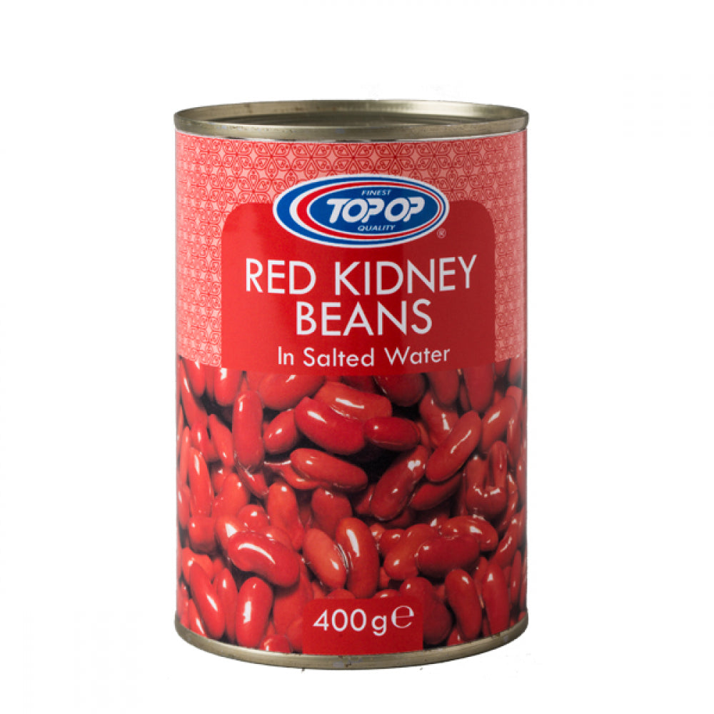 Top-Op Canned Red Kidney Beans