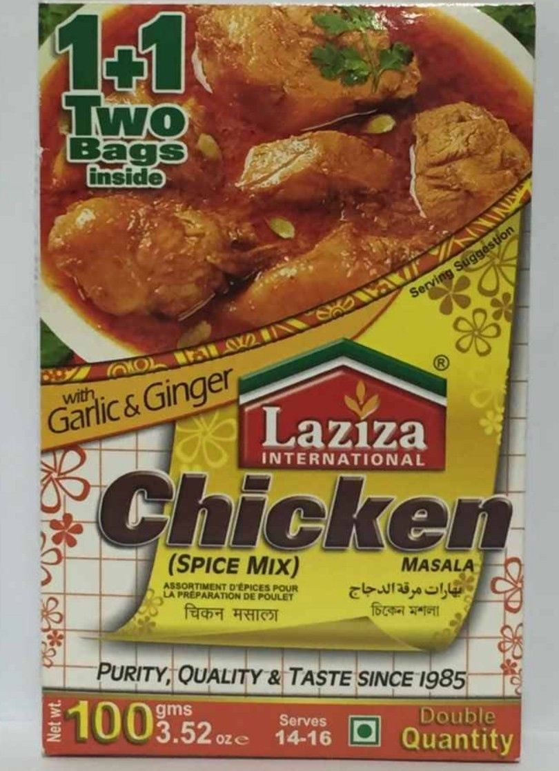 Laziza  Chicken Spice Mix/ Masala /Seasonings 100g