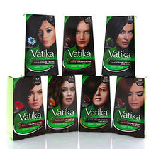 Dabur Vatika Natural Henna Colours Hair Colour Powder-100% AMMONIA FREE