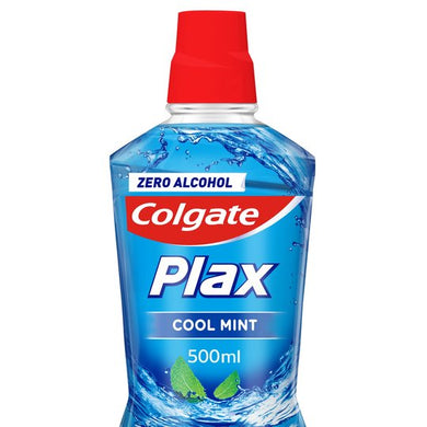 Colgate Plax Cool Mint Blue Af 500Ml