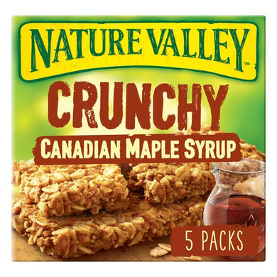 Nature Valley Granola Bars Maple Syrup 5 Pack