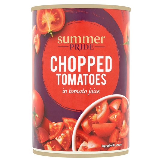 Summer Pride Chopped Tomatoes 400G