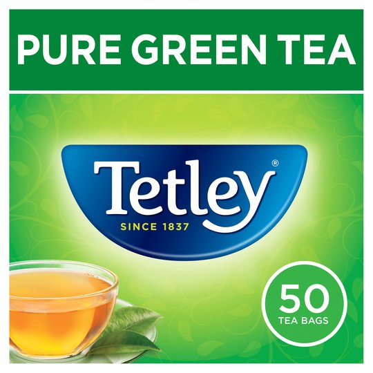 Tetley Pure Green Tea 50S 100G