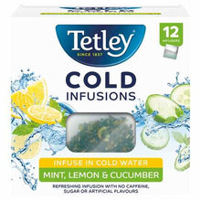 Tetley 12 Cold Infusions  : Select Flavour