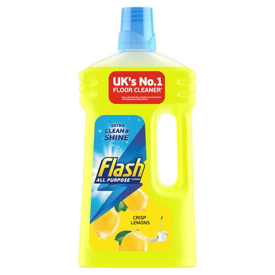 Flash All Purpose Liquid Cleaner Crisp Lemons 1 Litre