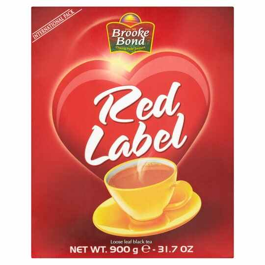 BROOKE BOND - RED LABEL - LOOSE LEAF BLACK TEA 900G