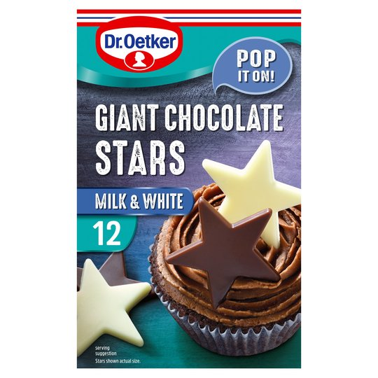 Dr Oetker Giant Chocolate Stars 20G