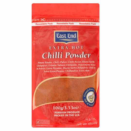 East End Chilli Powder Extra Hot 100G