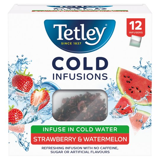 Tetley Cold Infusion Strawberry & Watermelon 27G
