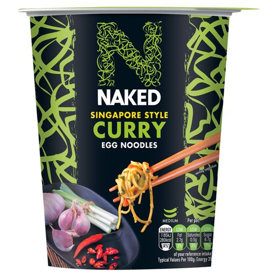 Naked Noodle Singapore Curry 78G