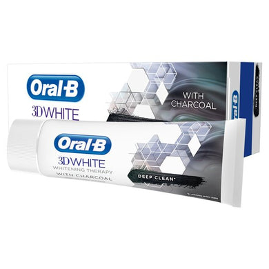 Oral-B 3D White Therapy Charcoal Toothpaste 75Ml