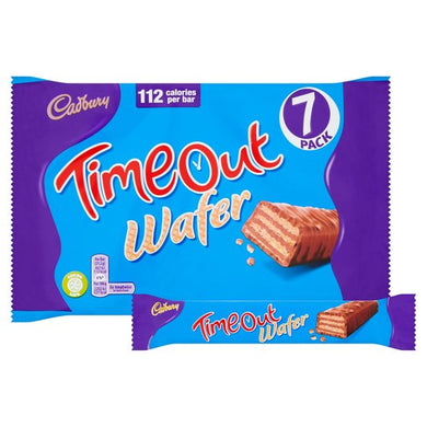 Cadbury Timeout Wafer 7 Pack 148.4G