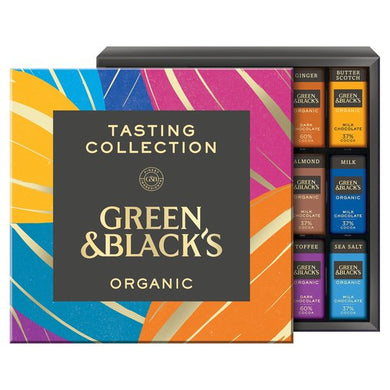 Green & Blacks Organic Tasting Collection Boxed Chocolates 395G  Christmas Gifts