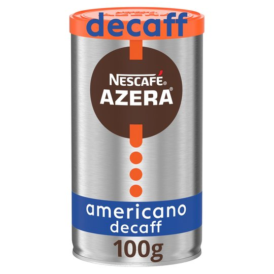 Nescafe Azera Americano Decaffeinated Instant Coffee 100g