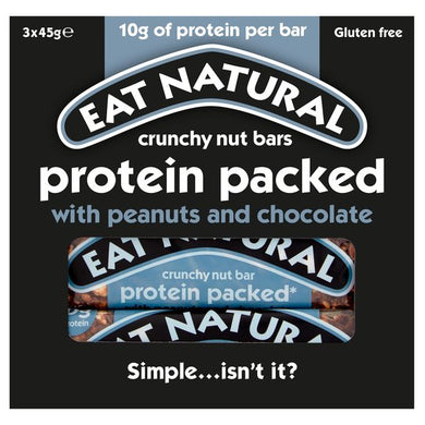 Eat Natural Protein Bar 3 X 45G
