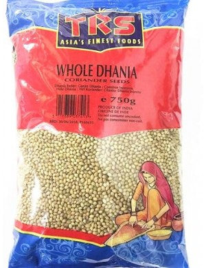 TRS Whole Dhania / Coriander Seeds 750g