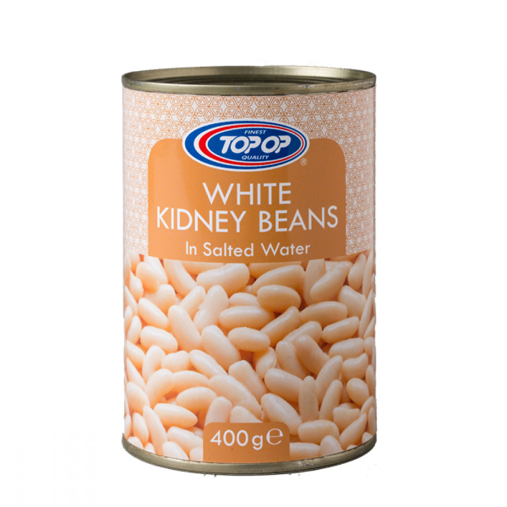 Top-Op Canned White Kidney Beans