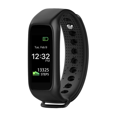 Smart Band Wrist Watch-Black