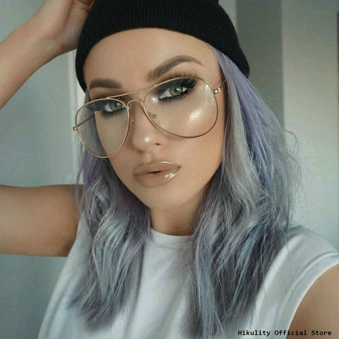 Retro Clear Lens Glasses - Divine Blu