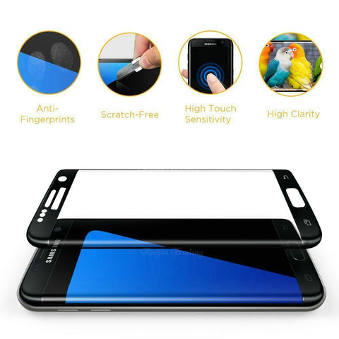 Premium Tempered Glass Protector For Samsung Galaxy Note 7 - Divine Blu