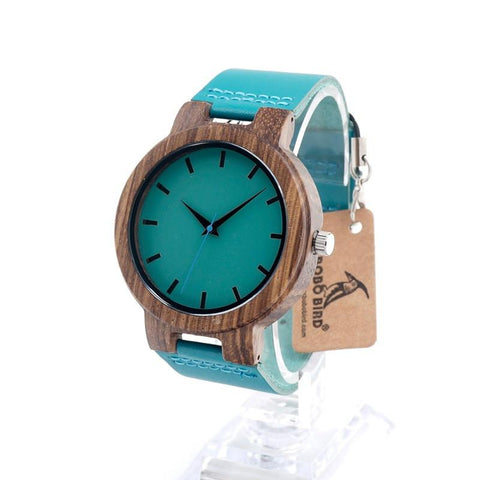 High Quality Bamboo Watch - Divine Blu
