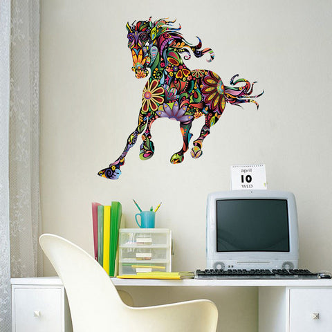 Decorative Running Horse Wall Decal