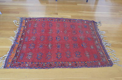 Moroccan Hand-Dyed Kilim Area Rug