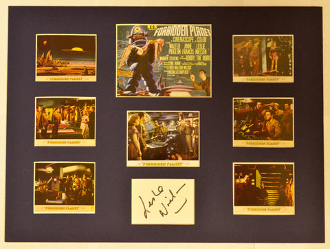 """Forbidden Planet"" Collage with Leslie Nielsen Autograph (includes COA)"