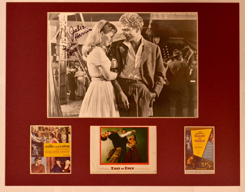 """East of Eden"" Collage with Julie Harris Autograph (includes COA)"