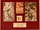"""A Streetcar Named Desire"" Collage with Kim Hunter Autograph (includes COA)"