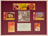 """A Place In The Sun"" Collage with Shelley Winters Autograph (includes COA)"