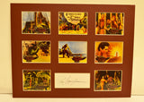 """The 7th Voyage of Sinbad"" Collage with Ray Harryhausen Autograph (includes COA)"