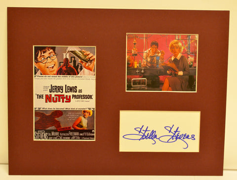 """The Nutty Professor"" Collage with Stella Stevens Autograph (includes COA)"