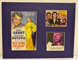 """His Girl Friday"" Collage with Rosalind Russell Autograph (includes COA)"