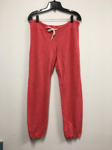 MONROW Classic Coral Sweatpants - Size Small (New)