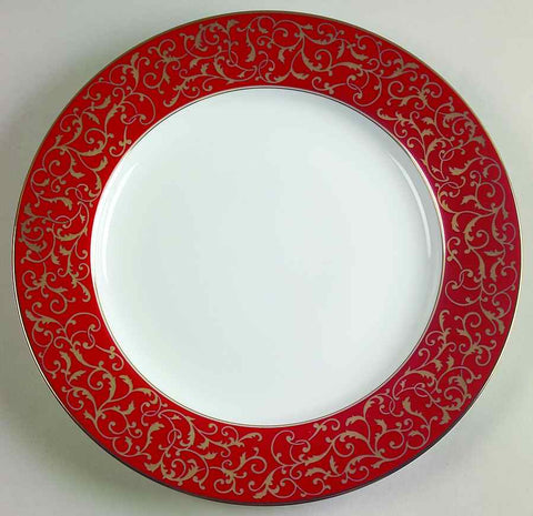MIKASA Parchment Rouge 10-3/4 inch Dinner Plate