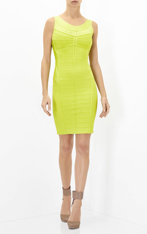 "NEW HERVE LEGER ""Ysabel"" Dress - Size Small"