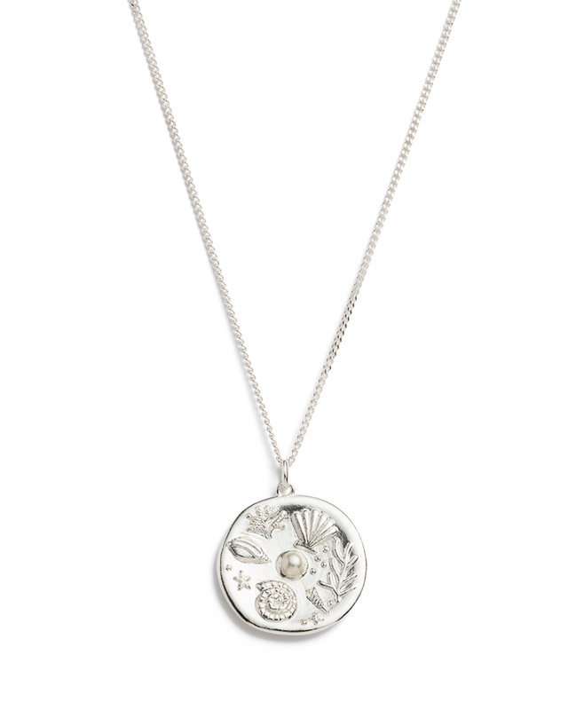 By the Sea Necklace - Sterling Silver