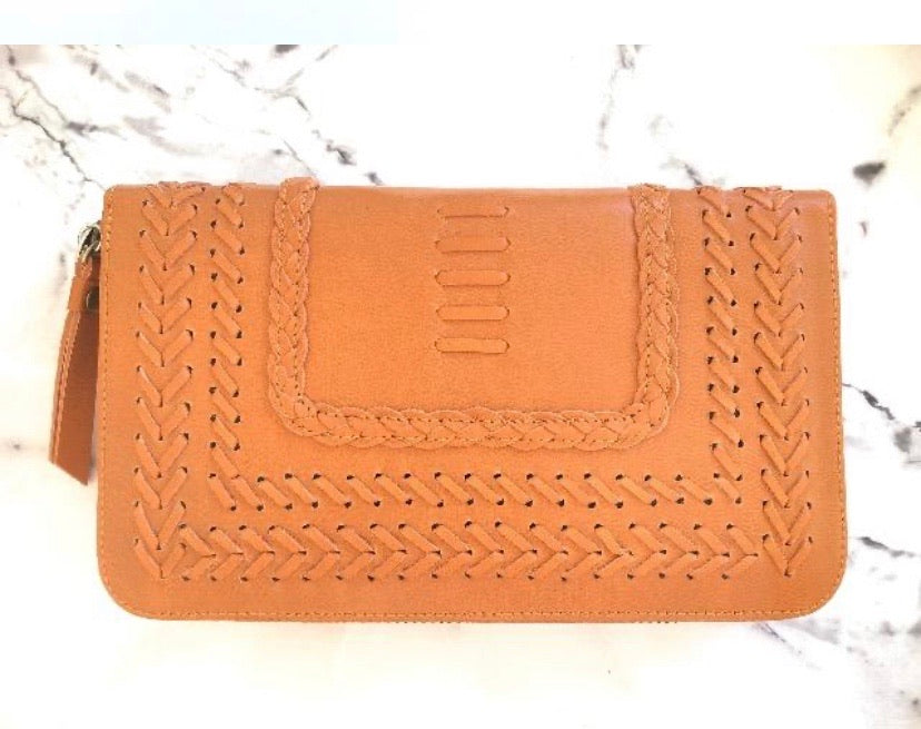Molly Wallet by Bare Leather - Tan