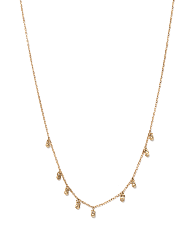 Sea Mist Necklace - 9k GOLD